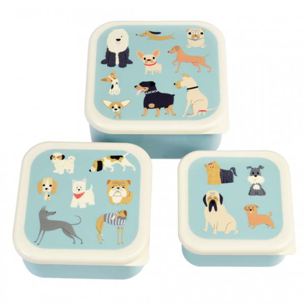 28923 3 Best In Show Snack Boxes Set 3