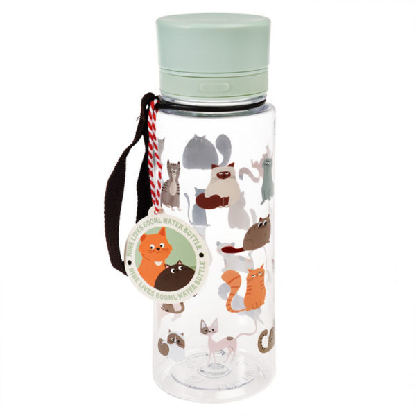 29053 Nine Lives Water Bottle