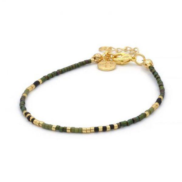 Delicate Bracelet Army Green Goud 510X510