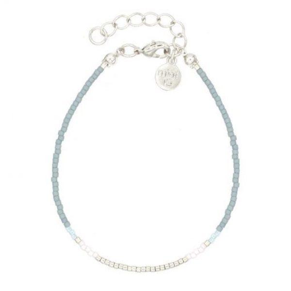 Delicate Bracelet Vintage Blue Zilver 510X510