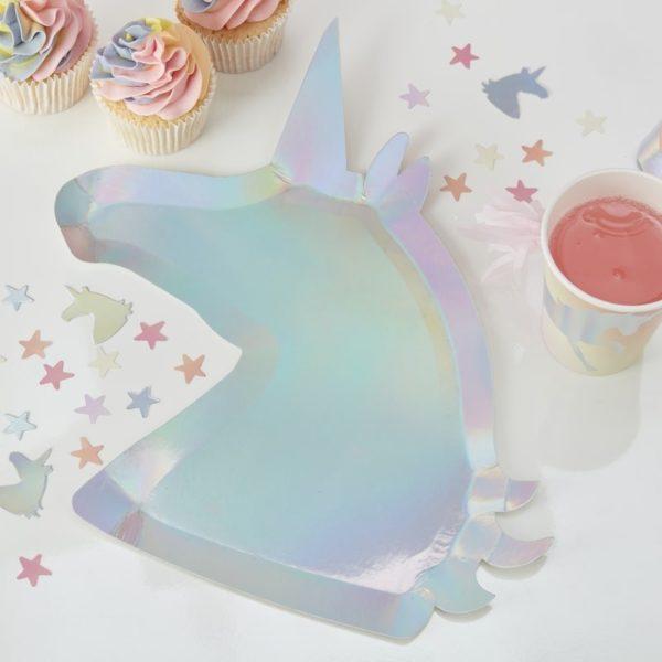 Mw 101 Iridescent Unicorn Shaped Plate V2 Min