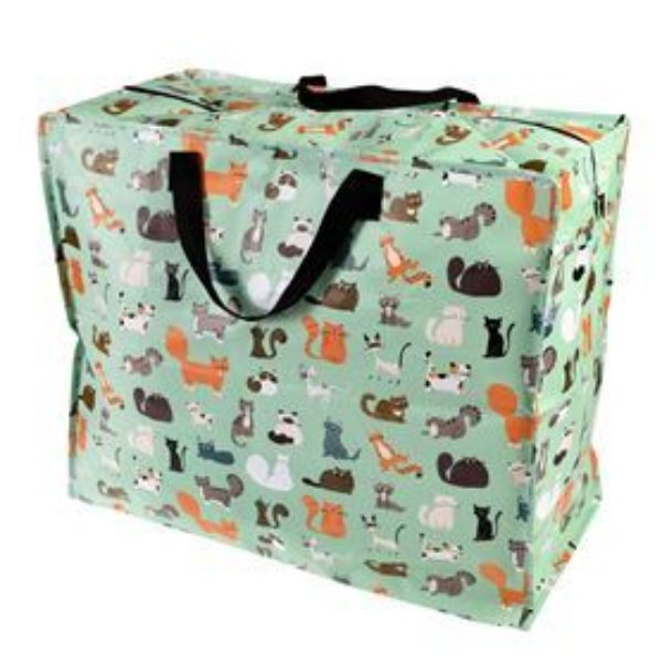 Nine Lives Cat Jumbo Storage Bag 402 P