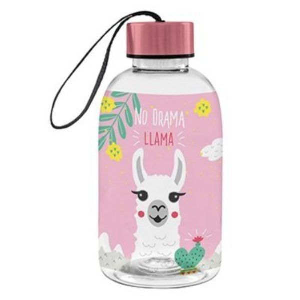 Paperproducts Design Water Bottle No Drama Llama