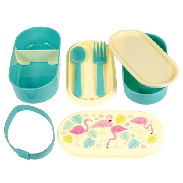Rex London Bento Box Flamingo 1