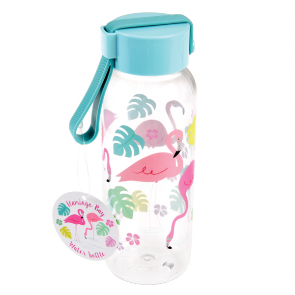 Small Flamingo Bay Water Bottle 28180 New1