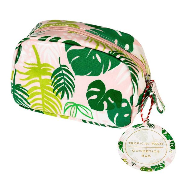 Rex London Make Up Bag Tropical Palm