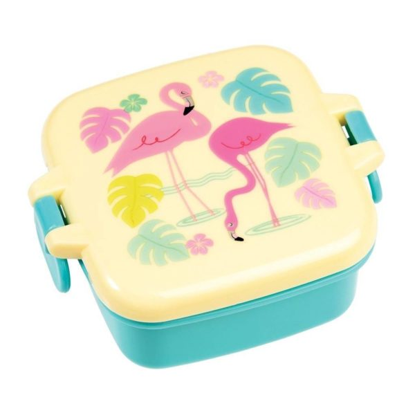 Rex London Mini Snackpot Flamingo