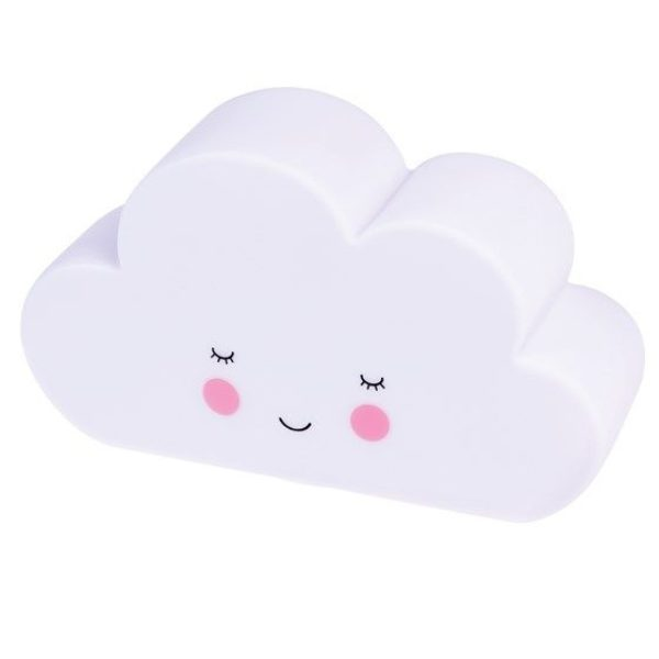 Rex London Night Light White Cloud