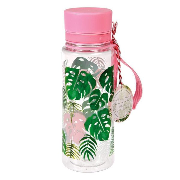 Rex London Water Bottle Tropical Palm